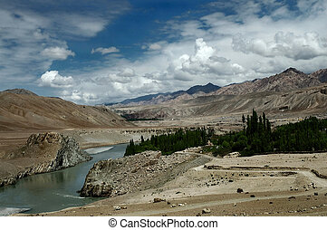 The Indus river - The river which gives name to my country...