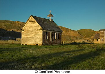 Old Rural Church - An old unused church located in the...