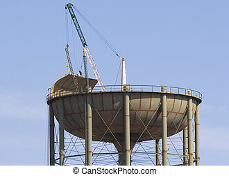 Water Tank Construction 7