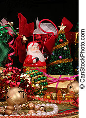 Christmas Decorations - Christmas Ribbons and Decorations on...