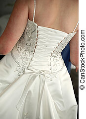 Brides dress - Details of brides dress