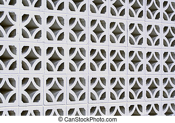 Cinder Block Wall - an image of a cinder block wall