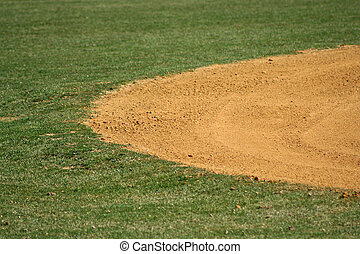 Baseball field - an image of a baseball field