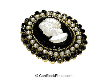 Cameo - Photo of an Antique Cameo / Broach - Heirloom