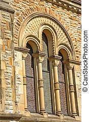 1800s Stained Glass Church Windows