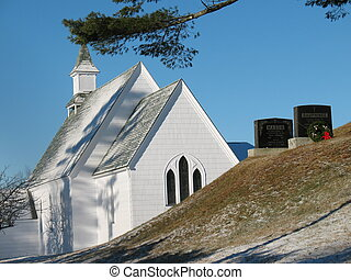 church and graves