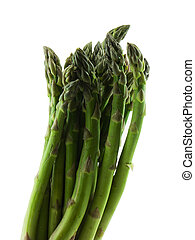 Asparagus - Photo of asparagus isolated on white