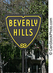 Beverly Hills Sign - World Famous Beverly Hills City Limits...