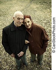 Seniors Love Story - special sepia toned photo fx ,focus...