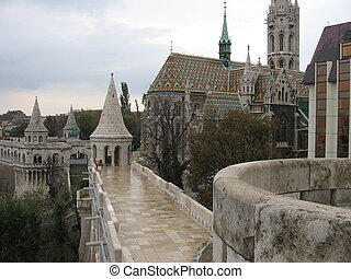 Fisherman's Bastion, Castle District, Budapest