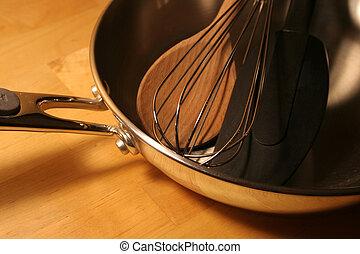 cozinha, ferramentas