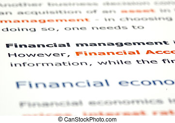 Financial news and documentation