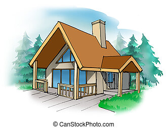 Cottage - A small vacation home in the country