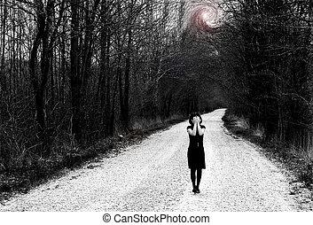 Desperation - We always enjoy spring time. But depression...