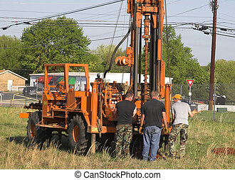 Drilling holes 2