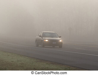 Traveling in fog 4 - Traveling in fog is dangerous, theses...