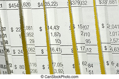 Forensic Accounting - Photo of a Shredded Financial...