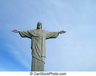 Christ the Redeemer - Statue of Christ the Redeemer on the...
