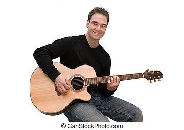 Guitarra, jogador