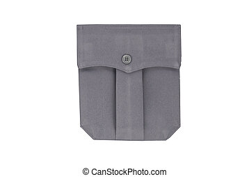 Uniform Pocket - An isolated view of a uniform pocket.