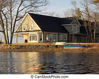 Cottage view - Waterfront view, executives cottage, Grand...