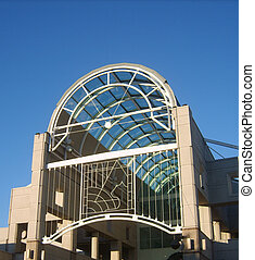 Structure - structure with sky light, Sacramento, California