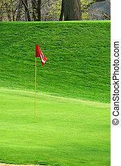 Golf Course In Springtime