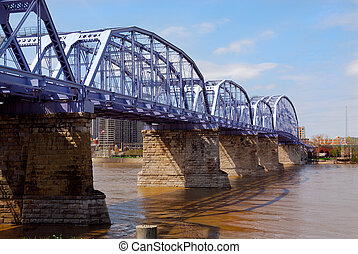 The Purple People Bridge Cincinnati Ohio - The Newport...