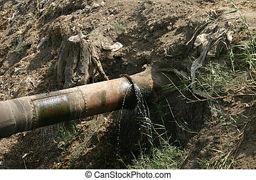 Faulty Water Pipe
