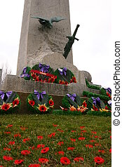 Remembrance Memorial - Remberance Day Memorial, poppys,...