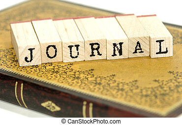 Journal - Photo of a Journal Diary - Personal Journal