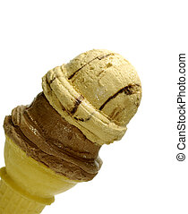 Ice Cream Cone - Photo of a Ice Cream Cone With 2 Scoops