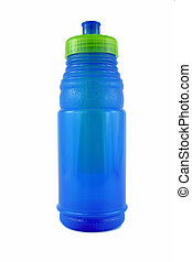 Blue Water Bottle - an image of a Blue Water Bottle