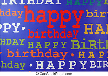 Happy Birthday Gift Bag - an image of a Happy Birthday Gift...