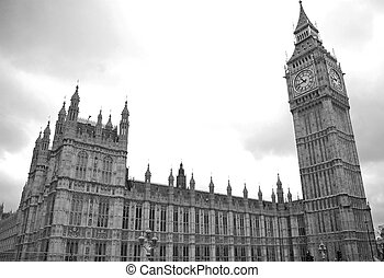 Landmark - London Parliament building - Big Ben