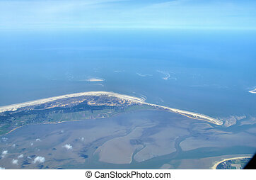 Islands in the north - Islands in the wadden sea in the...