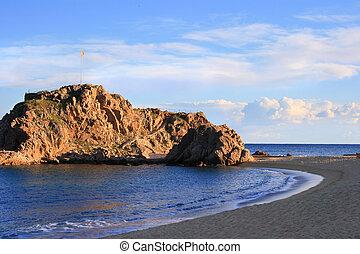 Sa, Palomera, (Blanes, -, costa, Brava, Spain)