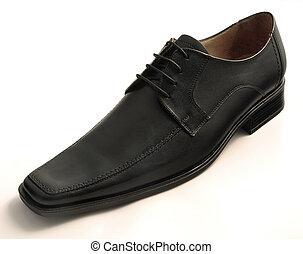 cuir, chaussure