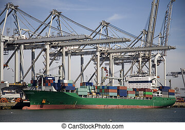 Cranes and carriers