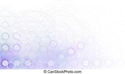 Border/Business Graphic - Purple Corner fading
