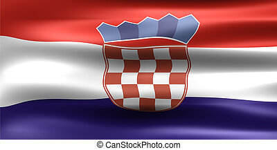 Croatia Flag - Symbol of a country
