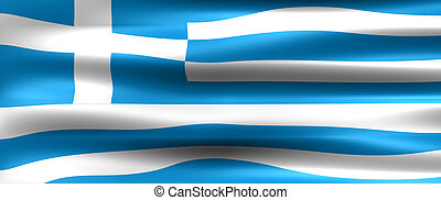 Greece Flag - Symbol of a country