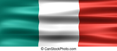 Flag - Italy Flag - Symbol of a country