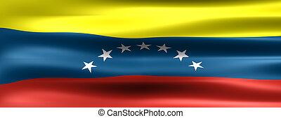 Flag - Venezuela Flag - Symbol of a country