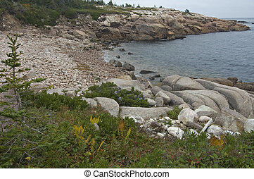 Coastal Trail, Cape Breton Highlands Nat Park, Nova Scotia, Canada