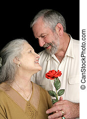 Romantic Husband - A handsome mature husband surprising his...