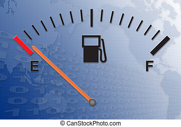 Running on empty - Running on low fuel