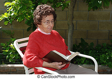 Grandmother Reads
