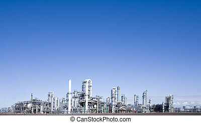 refinery 3 - Refinery at Europoort, Rotterdam, Holland