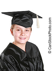 graduation day - Graduation day for a young boy